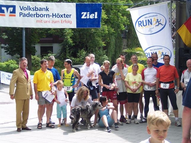 Run for Help 2006 - Siegerehrung