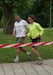 Run for Help 2004: Stephan paced Uli